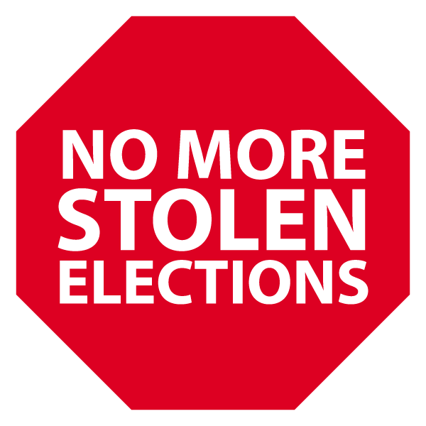 No More Stolen Elections! : Home